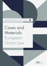 René Repasi M.K. Shahid, Cases and Materials European Union Law