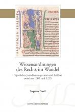 Stephan Dusil , Wissensordnungen des Rechts im Wandel
