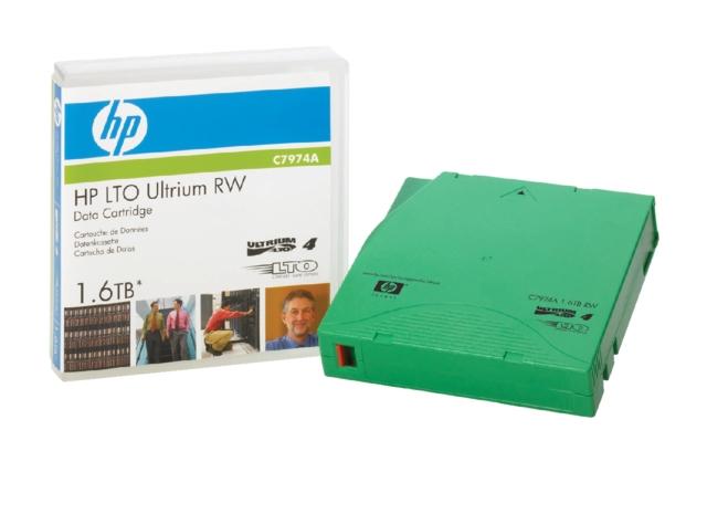 ,Datatape HP LTO ultrium 4 C7974A RW 1.6Tb groen