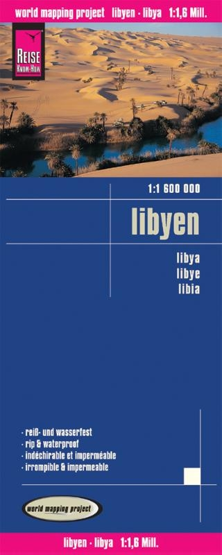 ,Reise Know-How Landkarte Libyen (1:1.600.000)