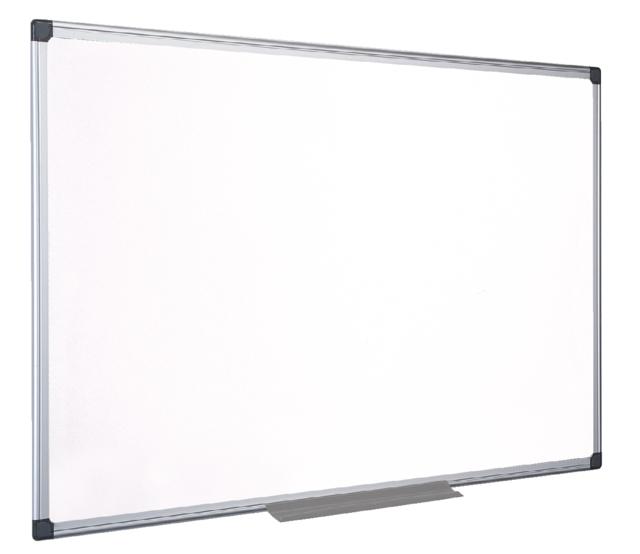 ,Whiteboard Quantore 90x120cm magnetisch gelakt staal