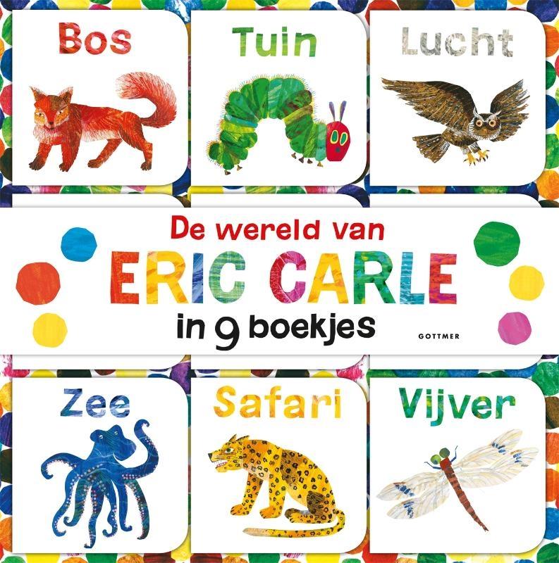 Eric Carle,De wereld van Eric Carle in 9 boekjes gemaakt voor kleine handjes