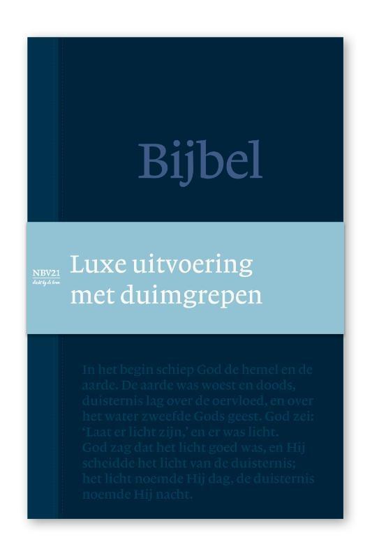NBG,Bijbel NBV21 Standaardeditie Deluxe