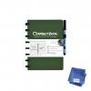 ,Notitieboek Correctbook uitwisbaar en herbruikbaar A5 bosgroen lijn 40blz
