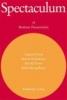 Spectaculum 78. Vier moderne Theaterstücke,Tankred Dorst: Ich bin nur vorübergehend hier / Martin, Heckmanns: Wörter und Körper / harold Pinter: Celebration / Rafael Spregelburd: Die Dummheit