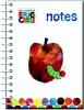 ,A5 notitieboek - Eric Carle appel