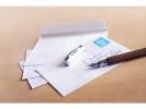 ,dienstenvelop Raadhuis 156x220mm EA5 wit met plakstrip doos a 500 stuks
