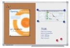 ,Whiteboard Duobord Legamaster Economy 90x120cm