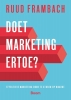 Ruud  Frambach,Doet marketing ertoe?