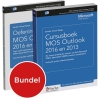 Studio Visual Steps,Cursusboek MOS Outlook 2016 en 2013 + extra oefeningen