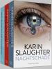 <b>Karin  Slaughter</b>,Pakket - Nachtschade ; Zoenoffer ; Een lichte koude huivering