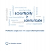 <b>C.  Janssen</b>,Accountability in communicatie