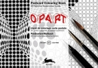 Pepin van  Roojen ,Op Art - Postcard Colouring Book