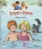 Tor Age  Bringsværd ,Casper en Emma krijgen zwemles