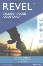 Henslin, James M. Social Problems Revel Access Code Card