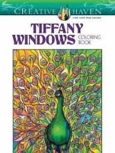 Tiffany, Louis Comfort Creative Haven Magnificent Tiffany Windows Coloring Book