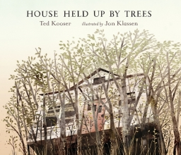 Kooser, Ted House Held Up by Trees