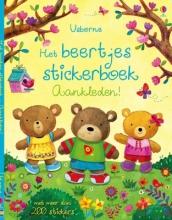 Het beertjes stickerboek aankleden!
