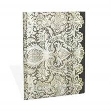 Paperblanks Lace Allu, Ivory Veil, Ultra, Lin