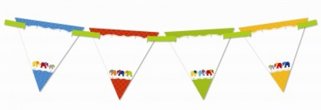 Parade of Elephants Banner