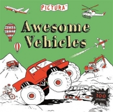 Mandy Archer,   Claire Sipi Pictura Puzzles Awesome Vehicles
