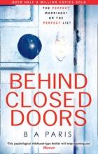 Paris, B A Behind Closed Doors