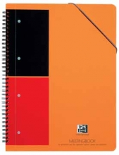 , Spiraalblok Oxford International Meetingbook A4+ lijn