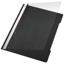 , Snelhechter Leitz 4191 A4 PVC zwart