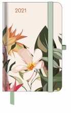 , Agenda 2021 teneues greenline floral 7d2p a6 10x15 cm