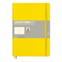 Lt355287 , Leuchtturm notitieboek composition softcover 178x254 mm blanco lemon geel