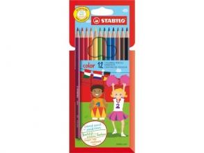 , Kleurpotloden STABILO Color 979  kartonnen etui à 12 kleuren