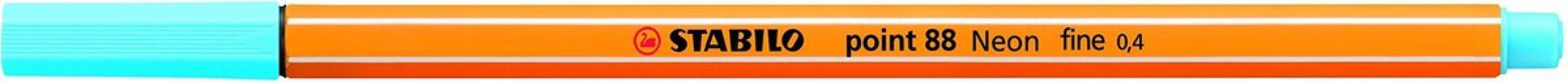 , Stabilo fineliner 88 kleur 31 turqouise