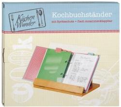 Mos-80262 , Keukenwonder kookboekstandaard hout