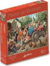 , Marius van Dokkum - Tuinfeest  -  Puzzel 1000 stukjes