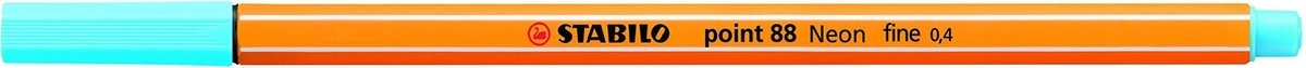 ,Stabilo fineliner 88 kleur 31 turqouise