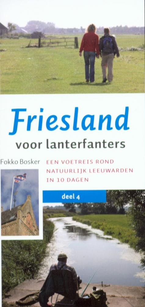 Fokko  Bosker,Friesland voor lanterfanters 4