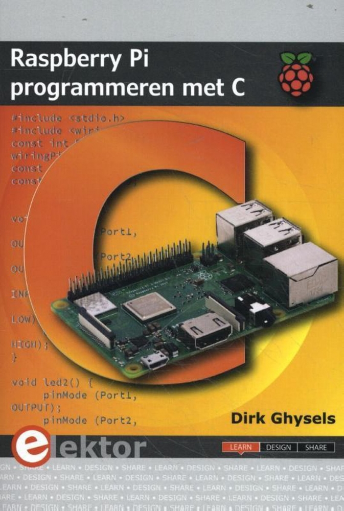 Dirk Ghysels,Raspberry Pi programmeren met C