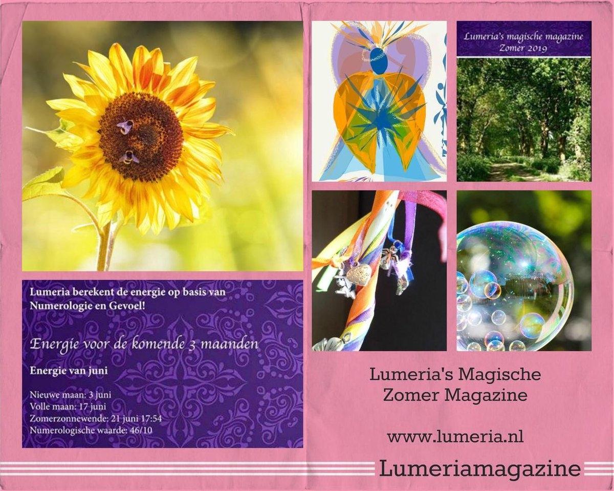 Klaske Goedhart,Lumeria`s magische magazine zomer