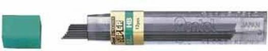 , Potloodstift Pentel 0.7mm zwart per koker B