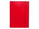 , Elastomap folio 3 kleppen rood