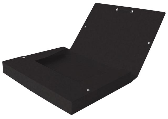 ,Elastobox Oxford Top File+ A4 40mm zwart