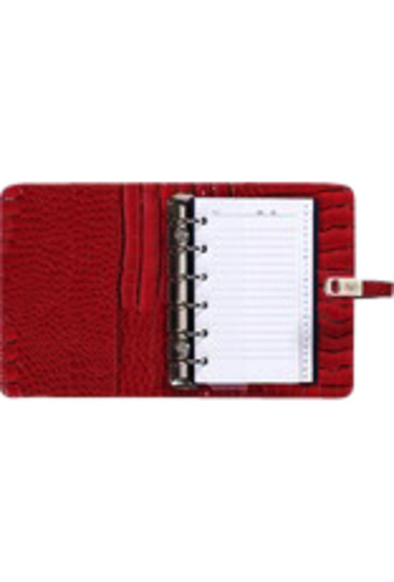 ,Agenda 2020-2021 organizer Kalpa Pocket Junior gloss-croco rood