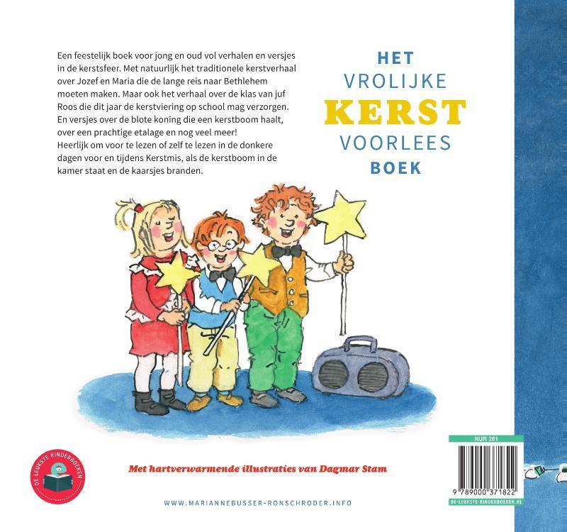 Marianne Busser, Ron Schröder,Het vrolijke kerstvoorleesboek
