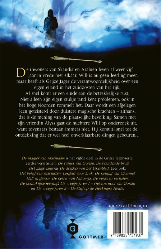 John Flanagan,De magiër van Macindaw