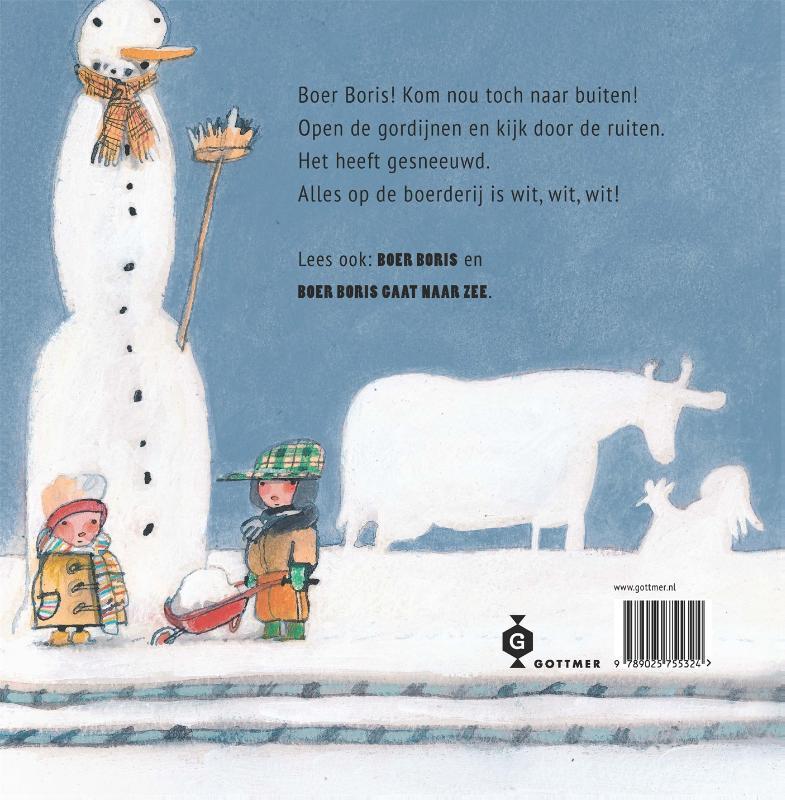Ted van Lieshout,Boer Boris in de sneeuw