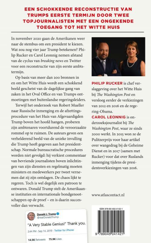 Philip Rucker, Carol Leonnig,Een heel stabiel genie
