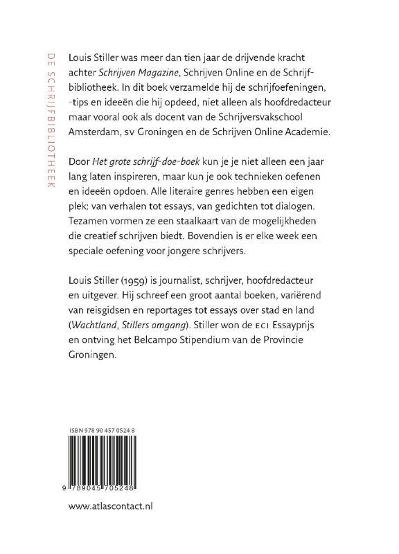 Louis Stiller,Het grote schrijf-doe-boek