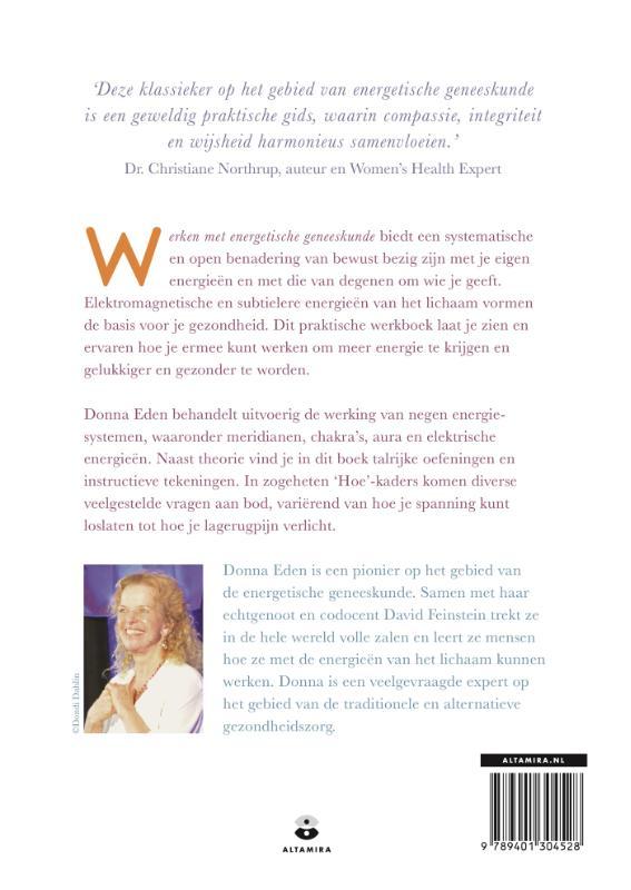 Donna Eden,Werken met energetische geneeskunde