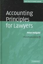 Holgate, Peter Accounting Principles for Lawyers