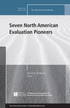 Williams, David D. Seven North American Evaluation Pioneers